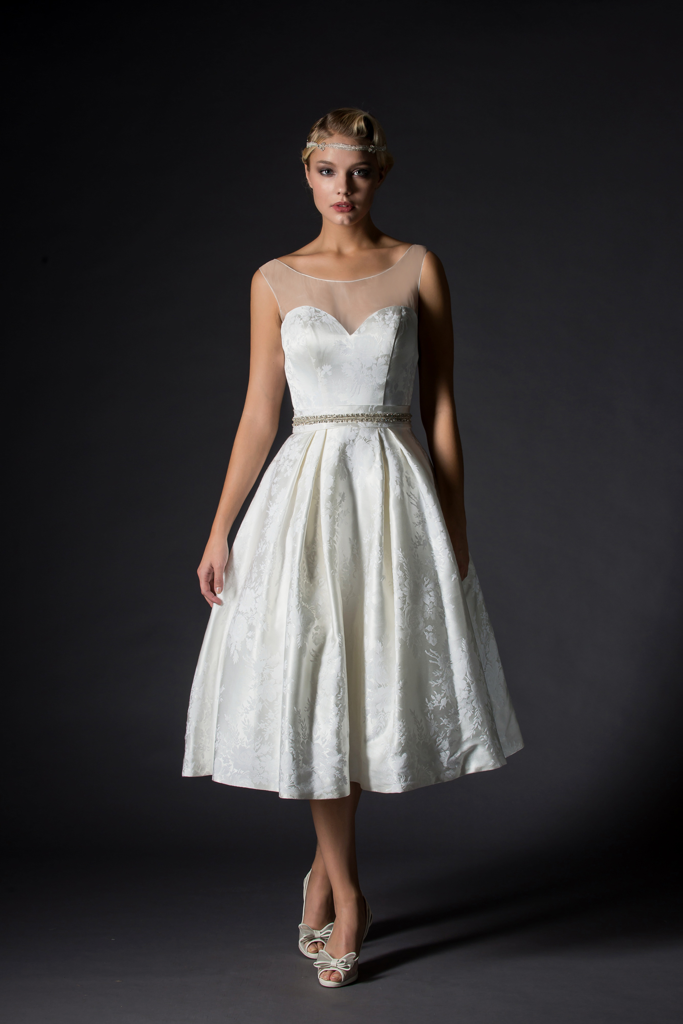 Rita Mae Offers A Unique Style On Tea Length Wedding Dresses And For This Weekend Only We Will Have The Full Collection In Store
