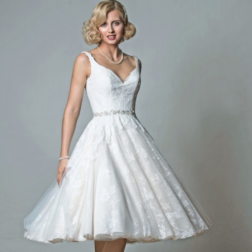 Short Wedding Dress Designer